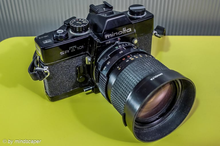 Minolta SRT101 Camera - Vintage